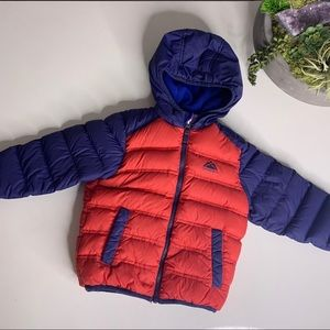 Snozu Toddler Down Hooded quilted Puffer Jacket 3T